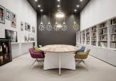 Table de conférence - Table de conférence ovale MARIS bicolore