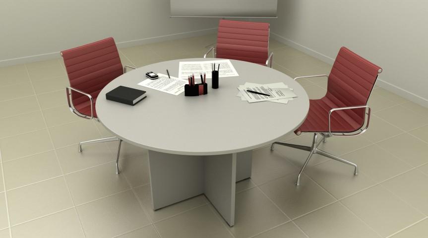 Table de réunion Budget