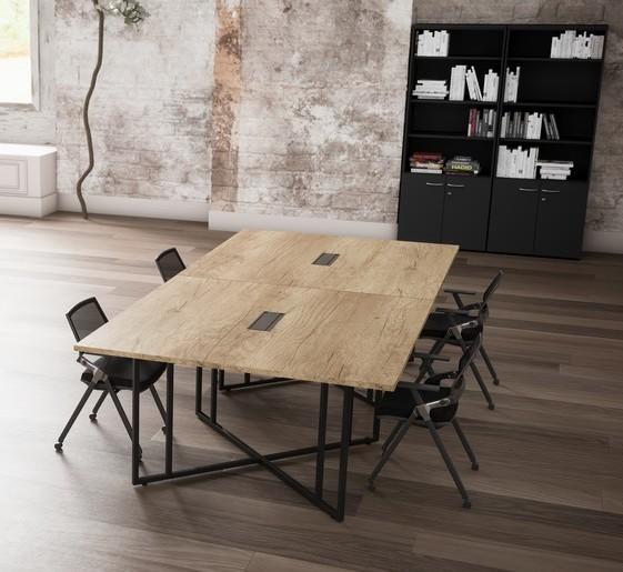 Table de réunion carrée Situ
