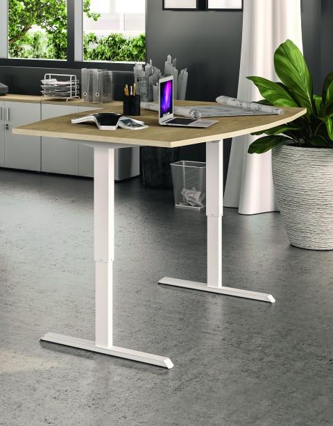 Table de réunion Eco-UP réglable en hauteur électrique