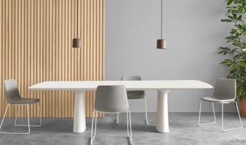 Table de réunion - Table de réunion Essens laqué ou plaqué