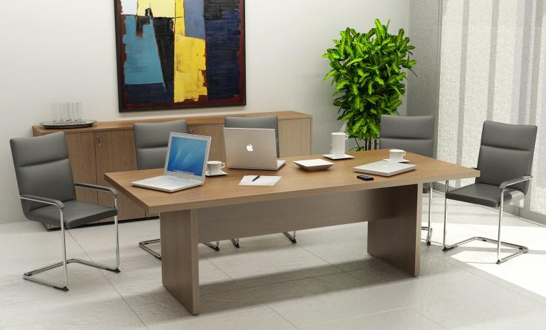 Table de réunion Flora
