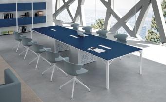 Table de réunion - Table de réunion laquée Roma