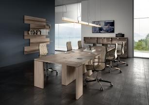Table de réunion - Table de réunion Ombra 14 personnes