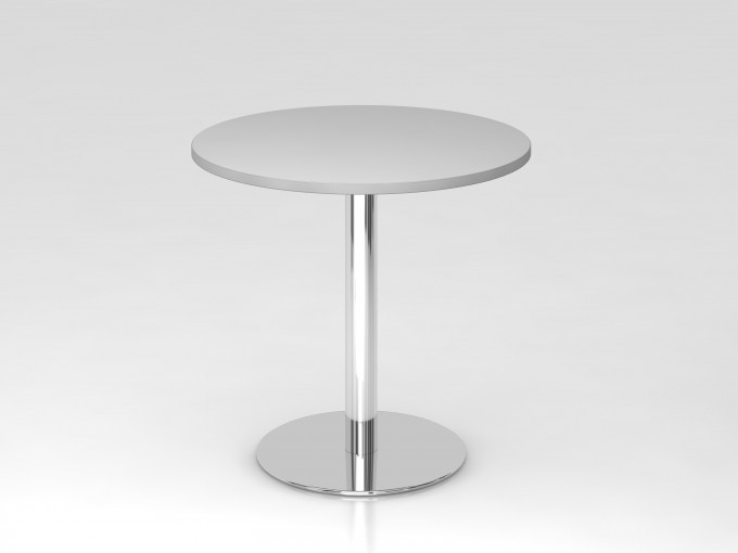 Table de réunion ronde 80 cm