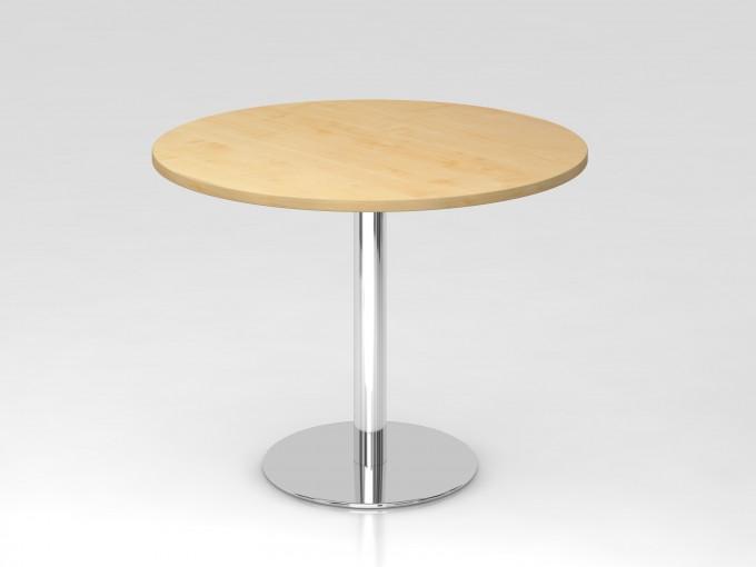 Table de réunion ronde de 100 cm