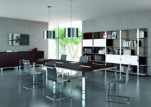 Table de réunion - Table de réunion Xantia 16/18 pers pieds ouverts
