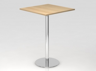 Pause - Table de réunion Haute carrée 80 x 80 cm