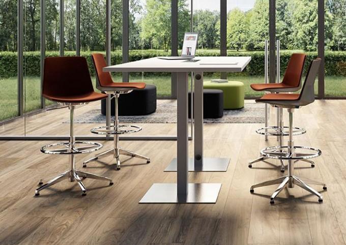 Table de réunion haute GRISHKA