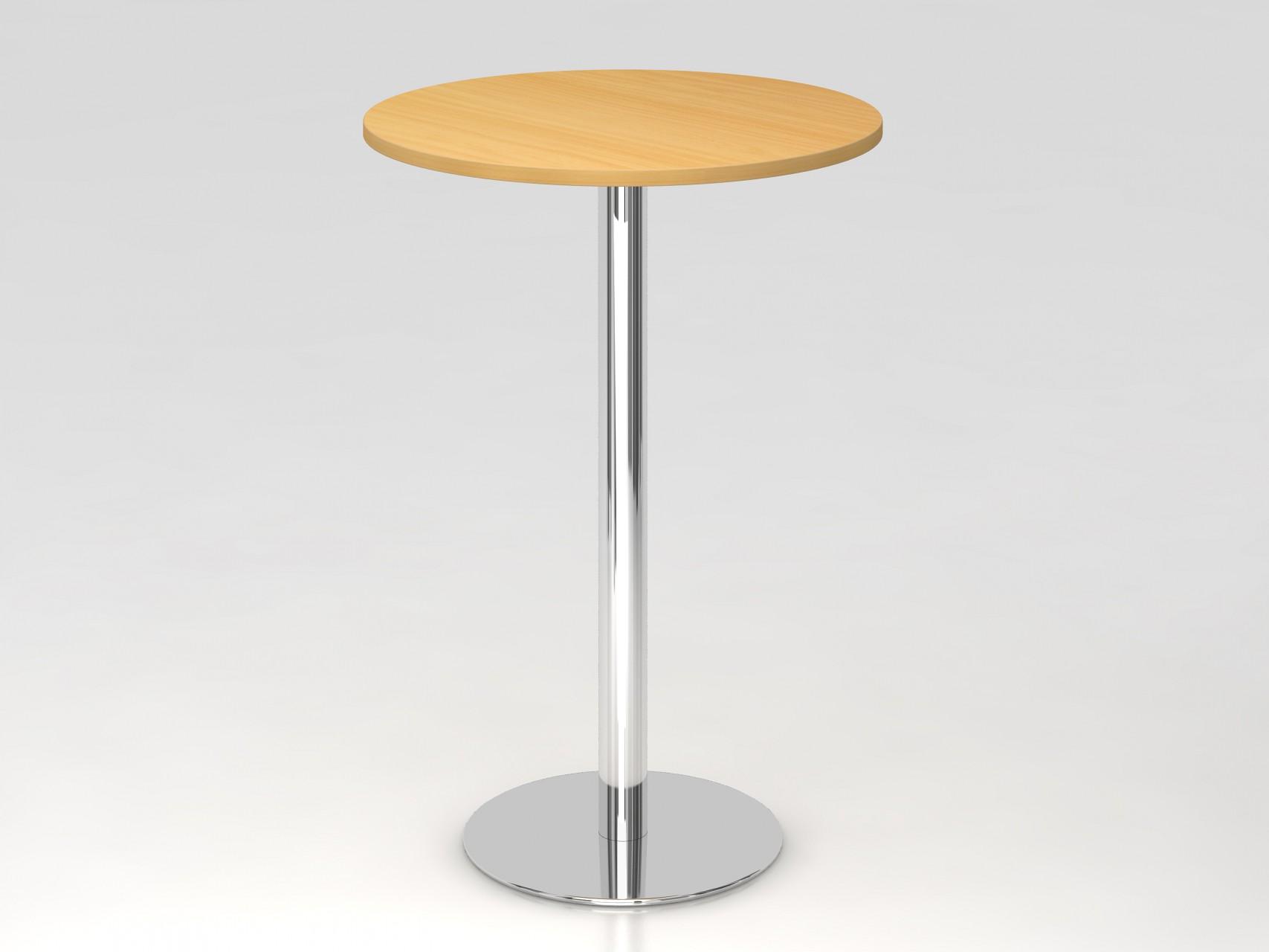 Table De Reunion Haute Ronde 80 Cm