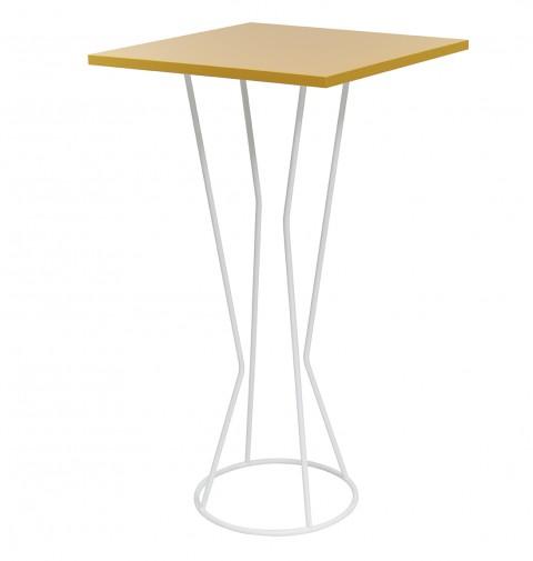 Table haute carrée CYCLO