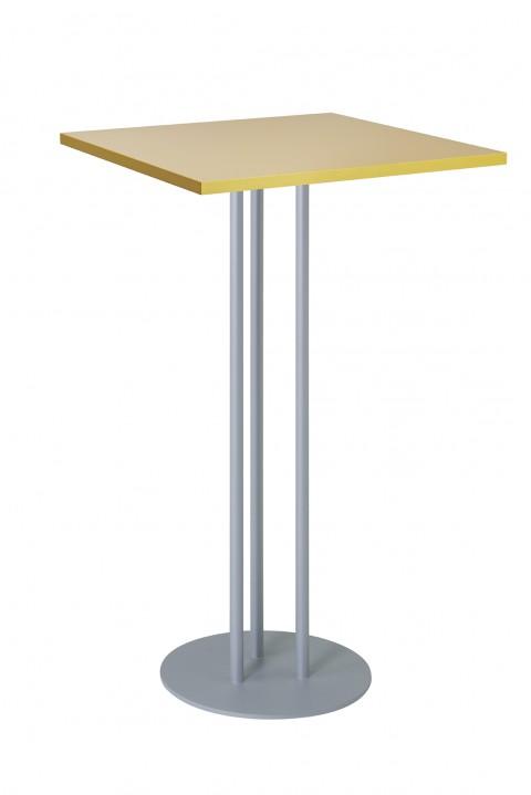 Table haute carrée TRIO