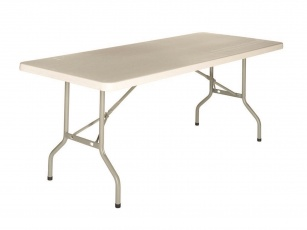 En stock 10 jours max - Table pliante 153 et 183 cm Lighty