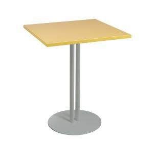 Tables de collectivité - Table carrée Roxane Hauteur 75 cm