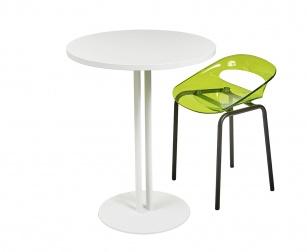 Tables de collectivité - Table ronde Roxane Hauteur 75 cm