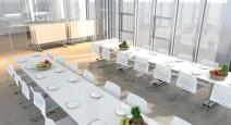 Tables pliantes et abattantes - Table basculante abattante TBC 180 cm