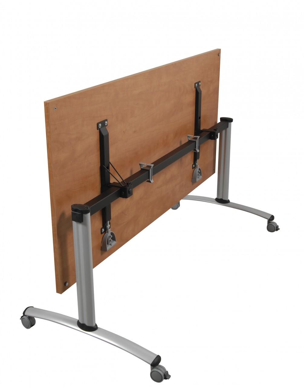 Table de r union basculante abattante 120 cm achat - Grande table de reunion ...