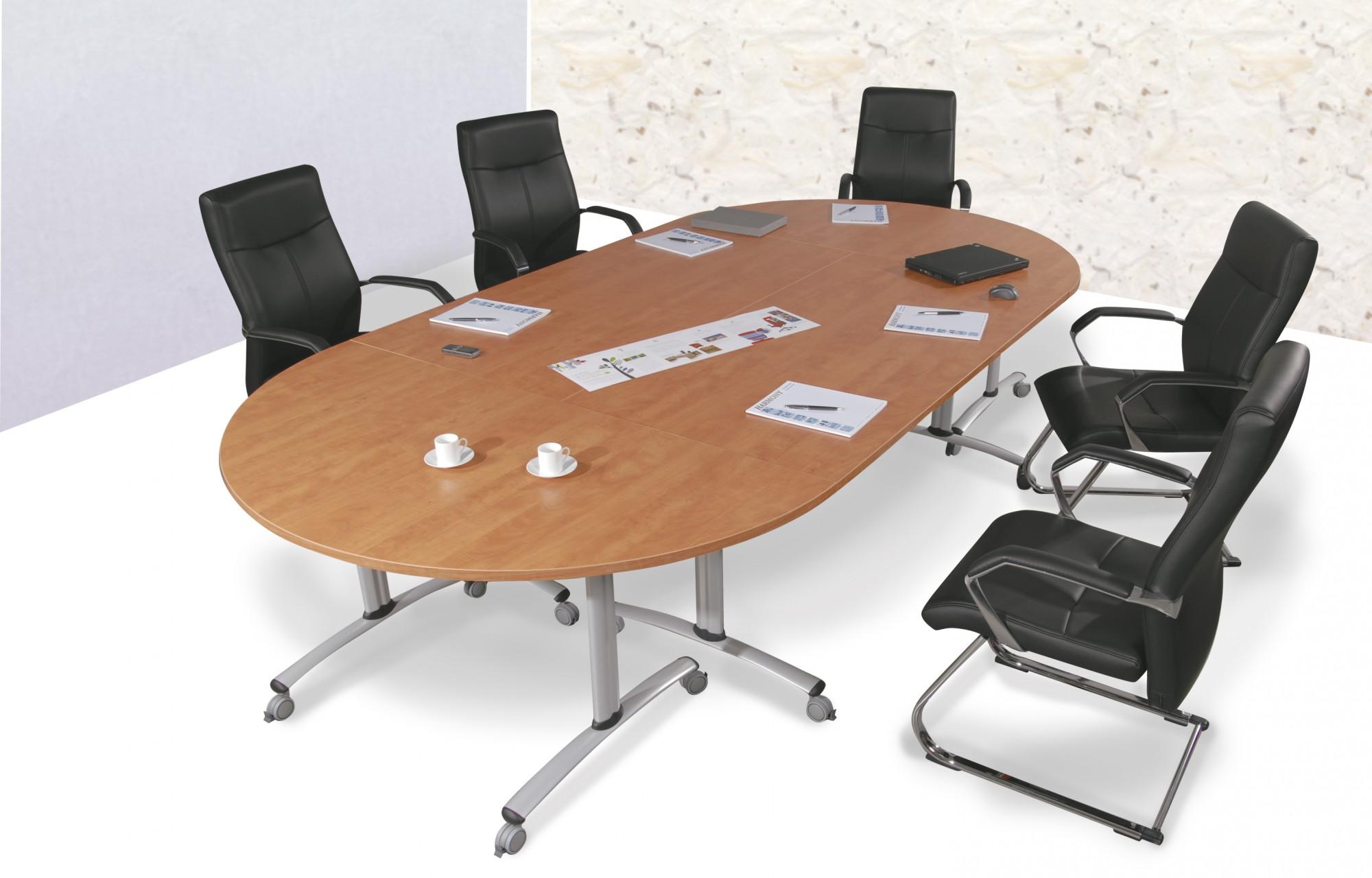 table de r union basculante abattante 140 cm achat tables pliantes et abattantes 364 00. Black Bedroom Furniture Sets. Home Design Ideas