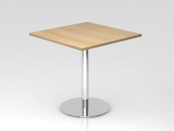 Table de réunion carrée 80 x 80 cm