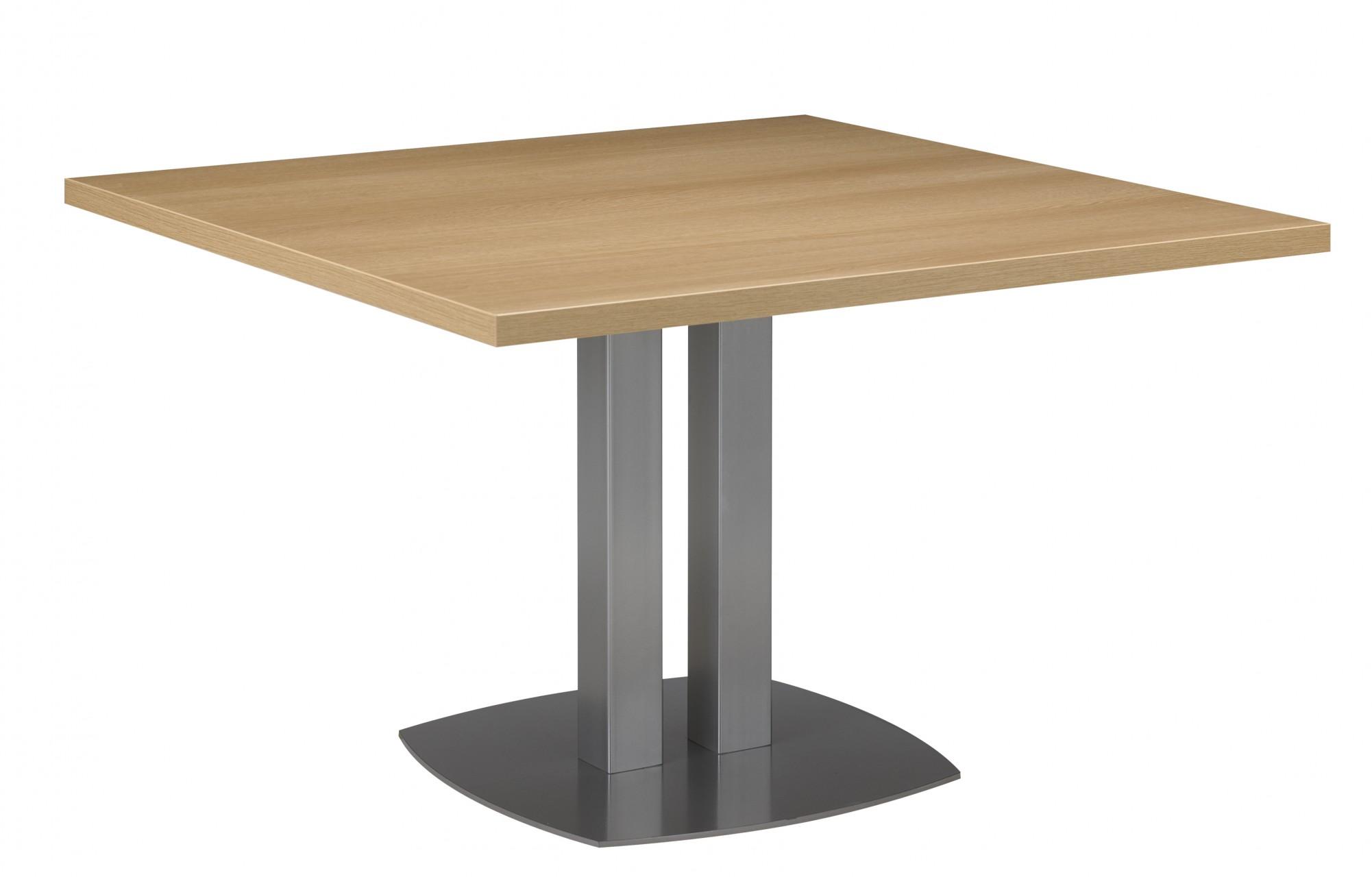 Table de r union carr e sliver achat tables de r union for Table de 4 et 5