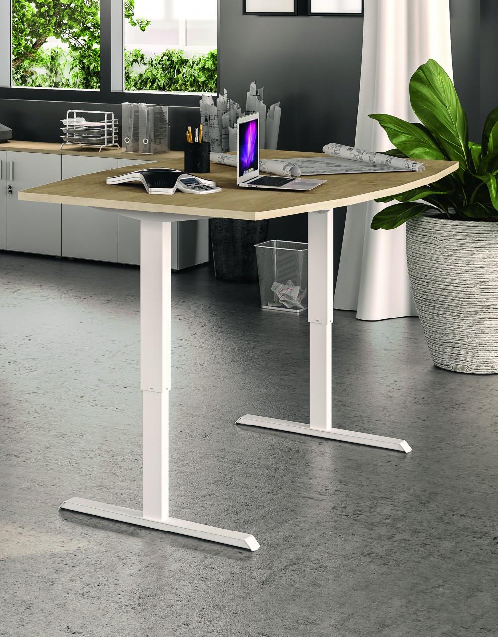 Table De Réunion Eco Up Réglable En Hauteur électrique