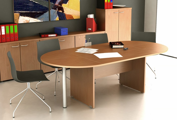 Table de réunion ovale Budget