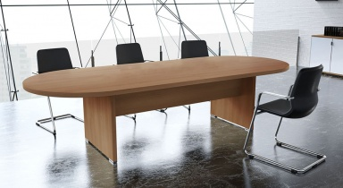 Tables de réunion - Table de réunion ovale Olympe 10-14 pers