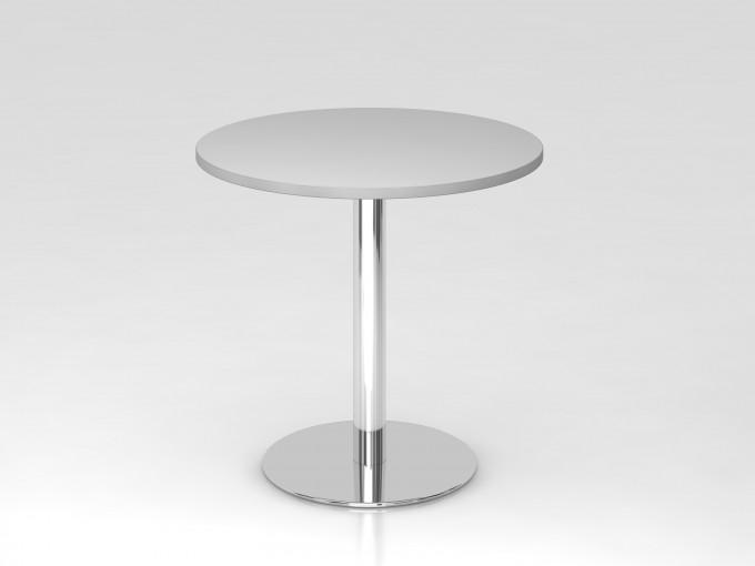 Table de réunion ronde 80 cm