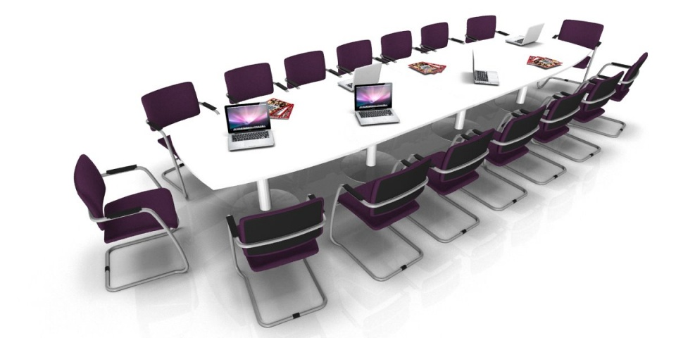 table de r union tonneau 18 20 places pieds tulipe achat tables de r union 1 772 00. Black Bedroom Furniture Sets. Home Design Ideas