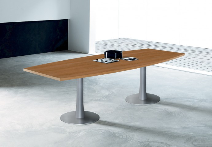 Table de réunion Tonneau Aqua