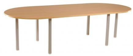 Table ovale 10p achat tables de r union 493 00 for Table ovale 10 personnes