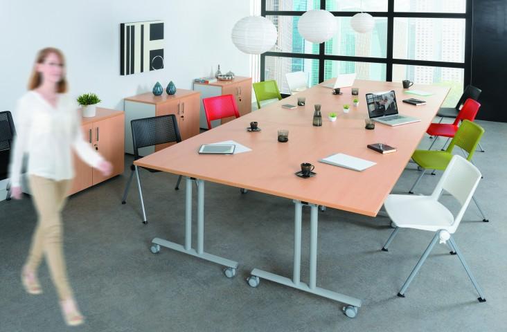 Table pliante abattante Fold 160 cm
