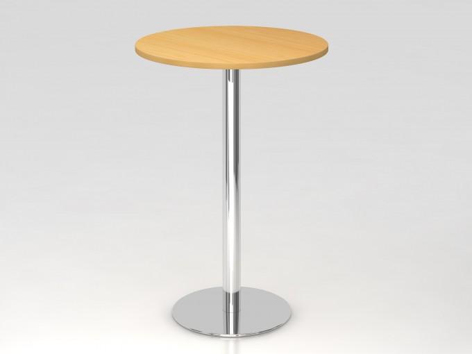 Table de réunion haute ronde 80 cm