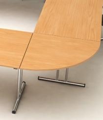 Tables pliantes et abattantes - Angle 90° table pliante Karly