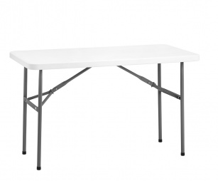 Tables pliantes et abattantes - Table pliante 122 cm Lighty