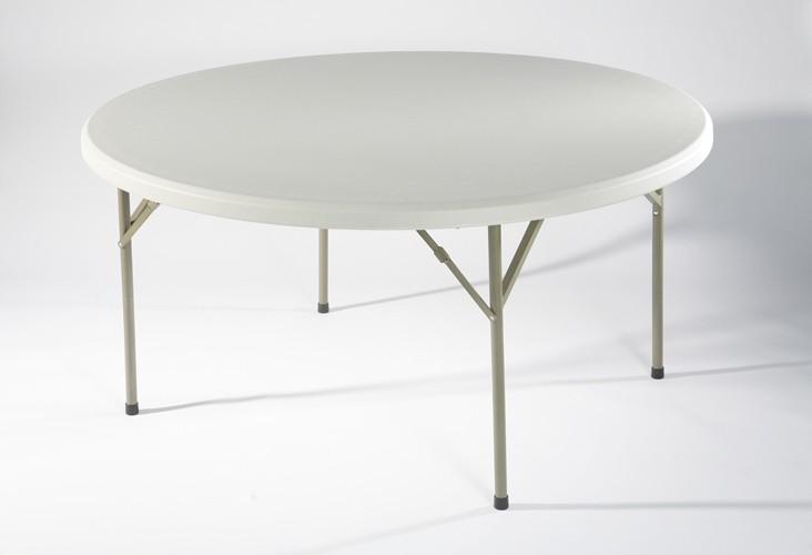 table ronde hpde 8 personnes achat tables pliantes et. Black Bedroom Furniture Sets. Home Design Ideas