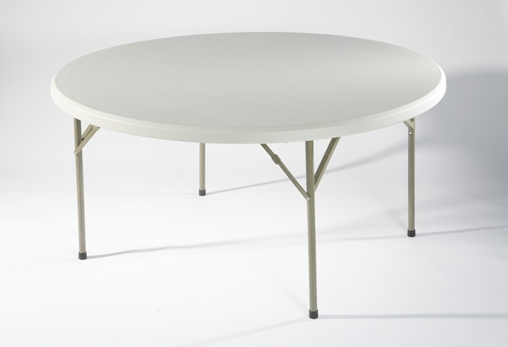 Table ronde hpde 8 personnes achat tables pliantes et for Table 8 personnes